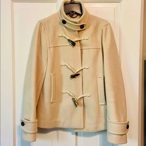 Banana Republic short wool coat